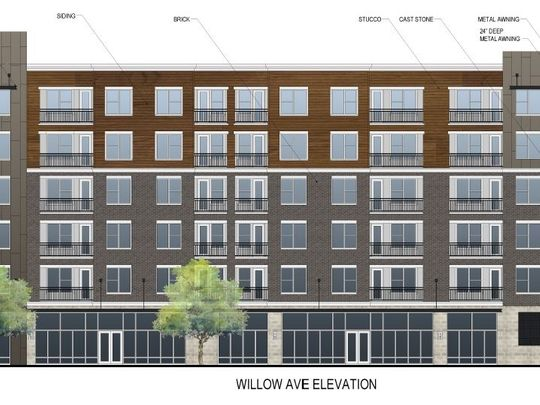 Rendering of Stockyard Lofts which will be located in the Old City Knoxville TN