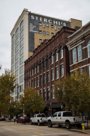 View of Sterchi Lofts from Gay Street Knoxville, TN
